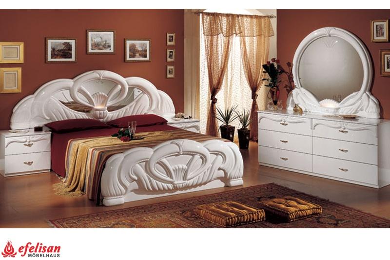 White italian bedroom set